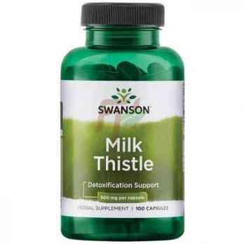 Swanson Milk Thistle (500 мг× 100 капсул)