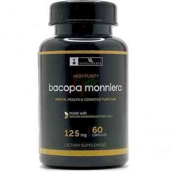 Bacopa Monniera (125 мг × 60 капсул) VL Supplements