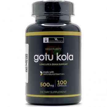 Gotu Kola (500 мг× 100 капсул) VL Supplements