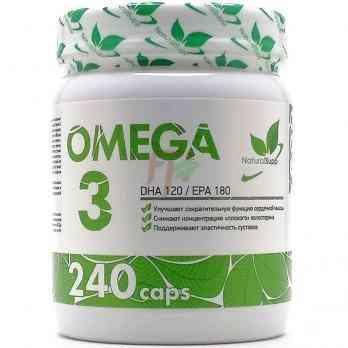 Natural Supp Omega 3 (240 капсул)