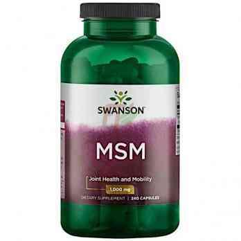 Swanson MSM (1000 мг× 240 капсул)