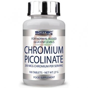 Scitec Chromium Picolinate (200 мкг × 100 таблеток)