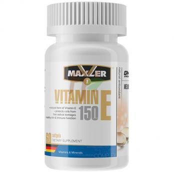 Maxler Vitamin E (150 мг × 60 капсул)