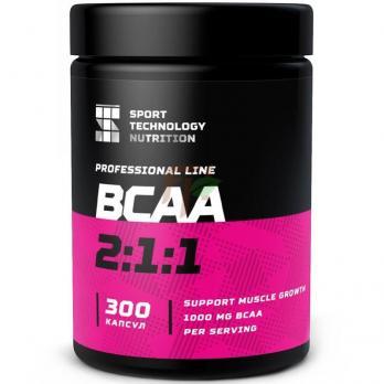 SportTech BCAA 2:1:1 (300 капсул)