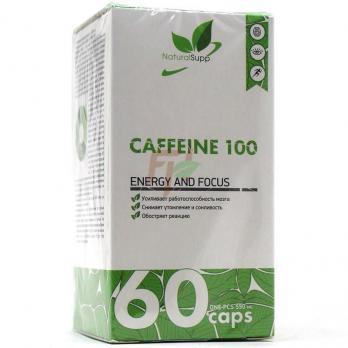 NaturalSupp Caffeine (100 мг × 60 каспул)