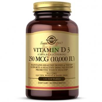 Solgar Vitamin D3 (10.000 IU × 120 softgels)