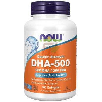 NOW Foods DHA-500 (90 капсул)