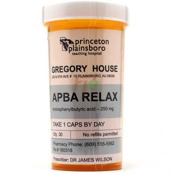 Princeton Plainsboro APBA Relax (250 мг × 30 капсул)