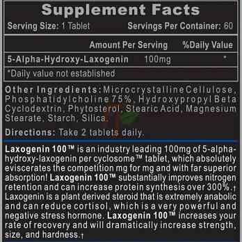 Hi-Tech Pharmaceuticals Laxogenin 100 состав