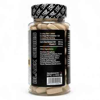 Epic Labs Cat's Claw extract : supplement facts