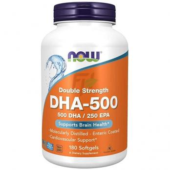 NOW FoodsDHA-500 Double Strength (180 капсул)