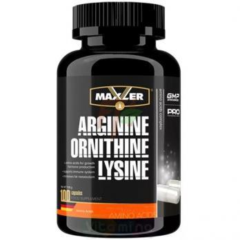 Maxler Arginine Ornithine Lysine (100 капсул)