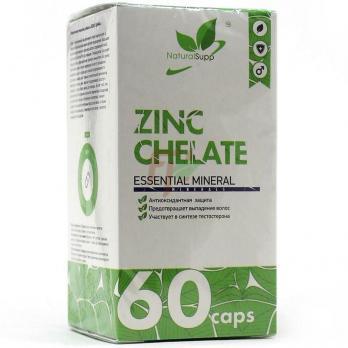 NaturalSupp Zinc Chelate (60 капсул)