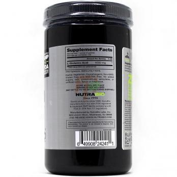 NutraBio 100% Pure L-Glutamic Acid (состав)