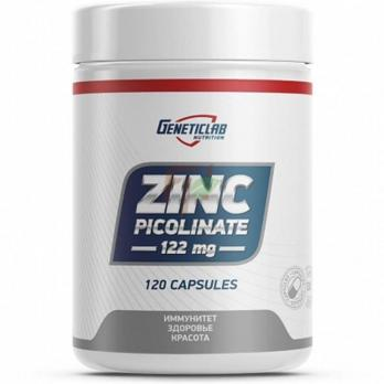GeneticLab Zinc Picolinate (122 мг × 120 капсул)