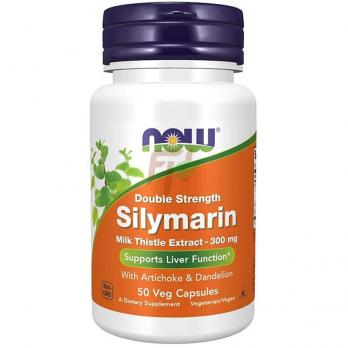 NOW Silymarin Double Strength (300 мг× 50 капсул)