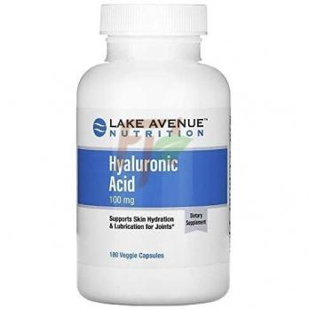 Lake Avenue Nutrition Hyaluronic Acid (100 мг× 180 капсул)