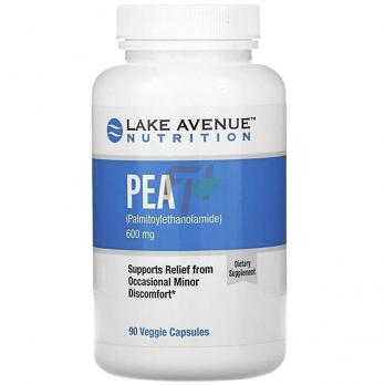Lake Avenue NutritionPEA [palmytoylethanolamide] (600 мг × 90 капсул)