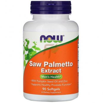 NOW Saw Palmetto Extract (90 капсул)