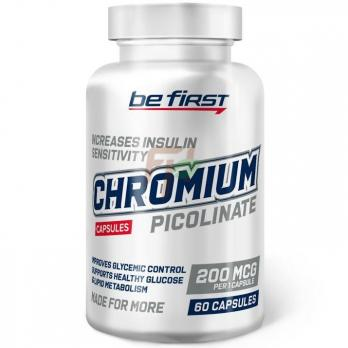 Be First Chromium Picolinate (200 мкг  × 60 капсул)