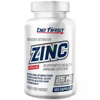 Be First ZINC (25 мг × 120 капсул)