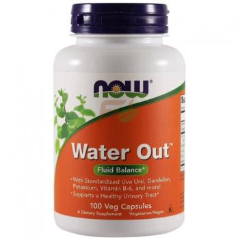 NOW Water Out Fluid Balance (100 капсул)