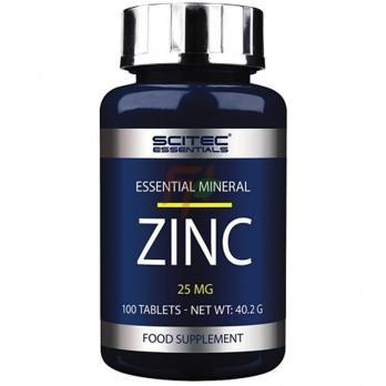 Scitec Essentials Zinc (25 мг × 100 таблеток)