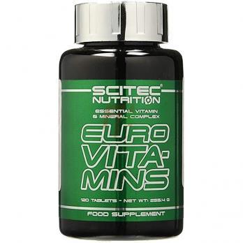 Scitec Nutrition Euro Vita-Mins (120 таблеток)