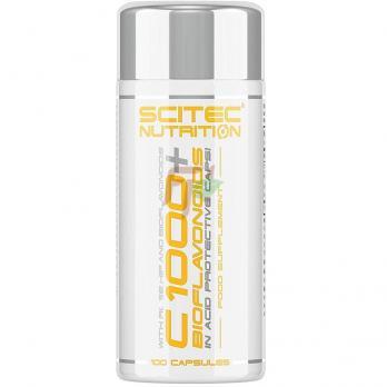 Scitec Nutrition Vitamin C 1000 + Bioflavonoids (100 капсул)