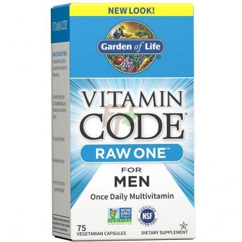 Garden Of Life Vitamin Code Raw One - For Men (75 капсул)