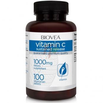 Biovea Vitamin C [Sustained Release] (1000 мг × 100 таблеток)
