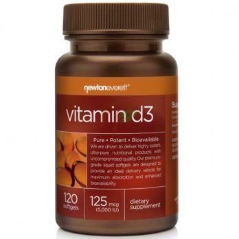 Newton Everett Vitamin D3 (5000 IU × 120 капсул)