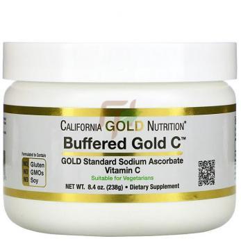 California Gold Nutrition Buffered Vitamin C (238 гр)