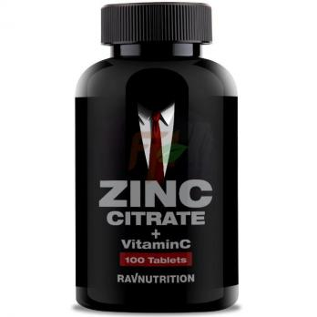 RavNutrition Zinc Citrate + Vitamin C (100 таблеток)