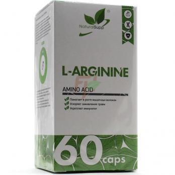 NaturalSupp L-Arginine (750 мг× 60 капсул)