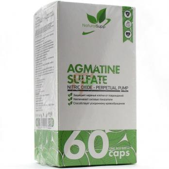 NaturalSUPP Agmatine Sulfate (600 мг × 60 капсул)