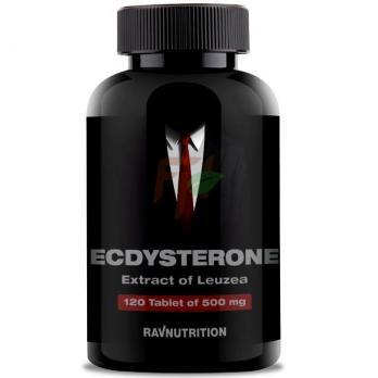Ravnutrition Ecdysterone - Leuzea Extract (500 мг × 120 таблеток)