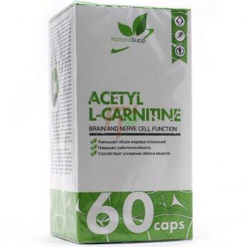 NaturalSupp Acetyl L-Carnitine (750 мг× 60 капсул)