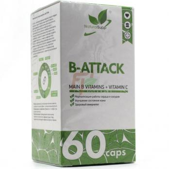 NaturalSupp B-Attack (60 капсул)