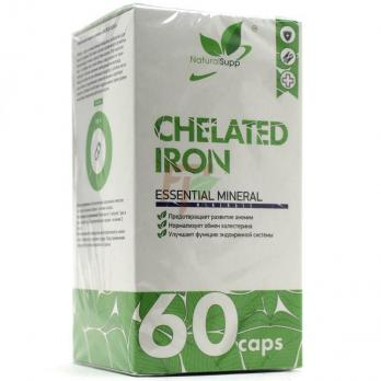 NaturalSupp Chelated Iron (25 мг× 60 капсул)