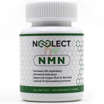 Noolect NMN [Nicotinamide Mononucleotide] (500 мг × 60 капсул)