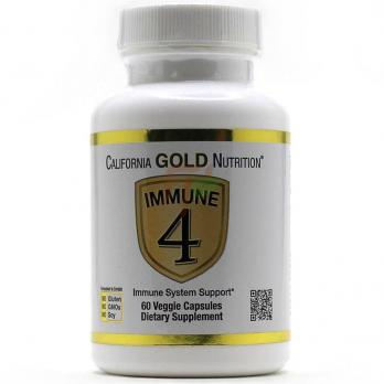 California GOLD Nutrition Immune 4 (60 капсул)