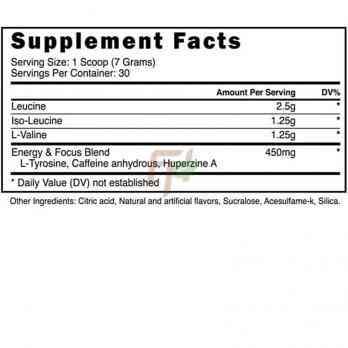 Аминокислоты Blackstone Labs BCAA Resurgence + Caffeine Состав