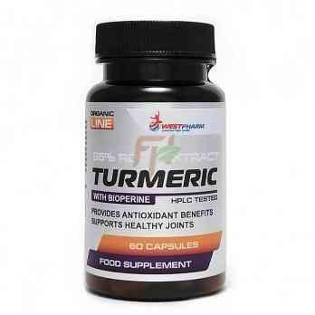 WestPharm Turmeric (500 мг× 60 капсул)