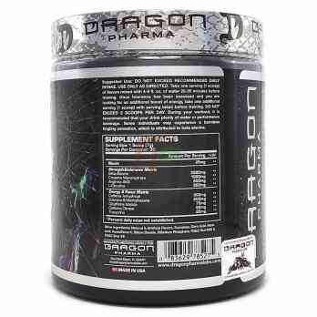 Dragon Pharma Labs Venom - состав предтреника