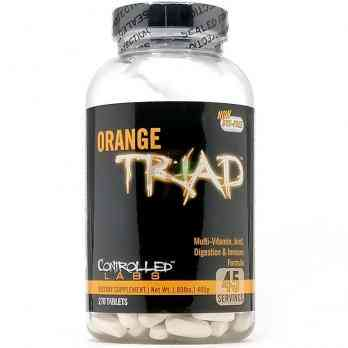Мульти Витамины Controlled Labs Orange Triad 270 таблеток