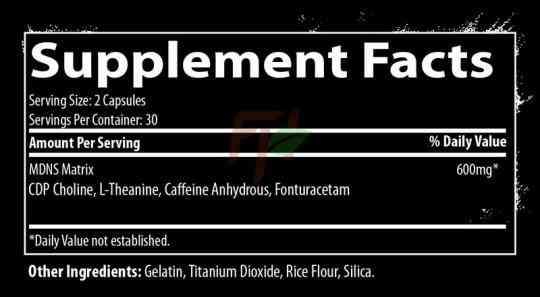 Ноотроп Freak Label MDNS состав