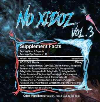 Noxidoz v3 Sage Research состав