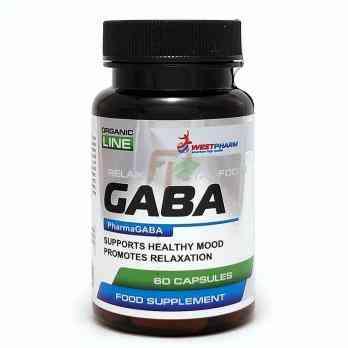 GABA (200 mg × 60 caps)
