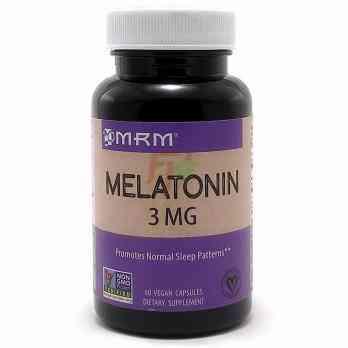 Melatonin (3 mg × 60 caps)